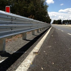 Road Barriers | Thriebeam Guardrail