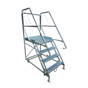 Stock and Order Picking Platform Ladder | BJ Turner