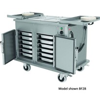 Bulk Food Trolley with Bain Marie Top | BF2B