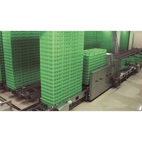 Materials Handling Stacking & de-Stacking