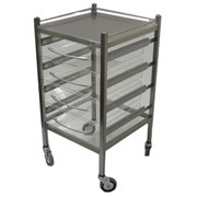 Perspex Hospital Dressing Trolleys | SS13VP