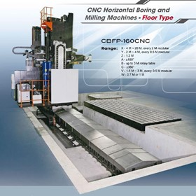 CNC Floor Boring Machines