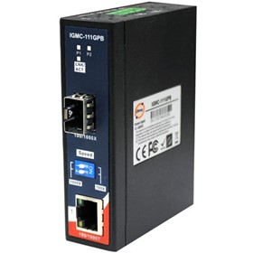 Industrial Ethernet to Fibre Optic Converter | IGMC-111GP