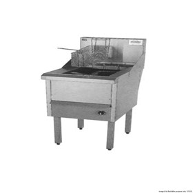 Gas Fish and Chips Fryer Single Fryer | WFS-1/18