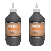 GRIPSET B26 ASPHALT CRACK FILLER 1 LITRE PACK OF 2