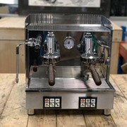 Fiorenzato Ducale Compact 2 Group Espresso Coffee Machine Stainless