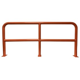 Safety Barriers | 1000mm High x 2200mm Wide - 76mm Tube Orange