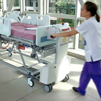 The true cost of pushing beds in hospitals