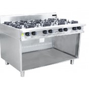 Gas Cooktops | 8 Burner Cooktop with Pilot Light