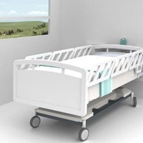 Falls Prevention Dual Beam Bed Monitor