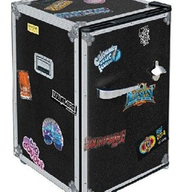 Roadie Travel Case Retro Mini Bar Fridge 70 Litre Schmick Brand