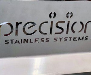Precision is renowned for its high quality stainless fabrication