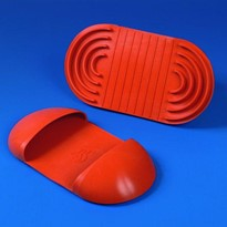 'Hot Grip' HAND PROTECTION MITT Red Silicone Rubber
