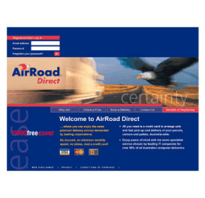 AirRoad Direct offers new internet based delivery system
