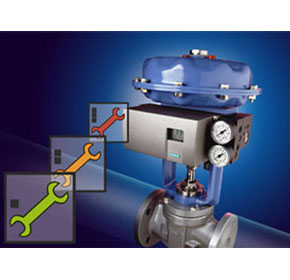 Positioner provides early signaling of impending failure of a valve or actuator