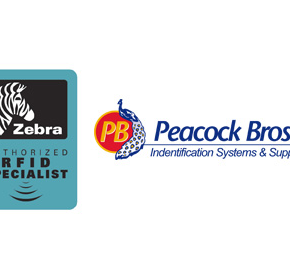 Peacock Bros becomes Zebra's authorised RFID reseller