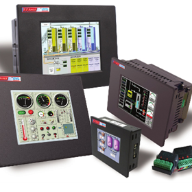 EZTouch I/O Standalone HMI + PLC (OR) Smart HMI Panel with I/O