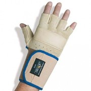 Premium Anti Vibration Glove | Half Finger with Wrist Support