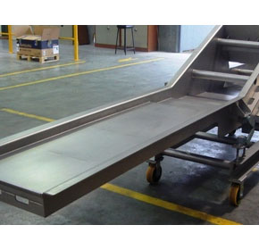 Vibratory Inspection Conveyors for visual inspection of products