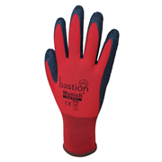 Nylon Gloves with Crinkled Latex Coating - Munich - M Series