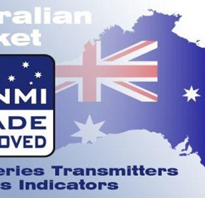 LAUMAS TRANSMITTERS/INDICATORS NMI TRADE APPROVED FOR AUSTRALIAN MARKET