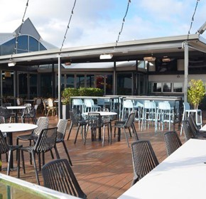 See why people are choosing Heliosa Outdoor heating at Fine Food Australia
