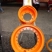 Wheels for loader, truck, forklift and more