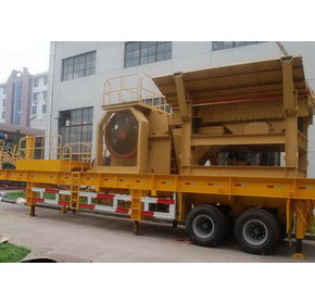 Mobile Primary and Secondary Crushing Plant
