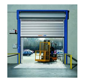 High speed security roll doors from DMF