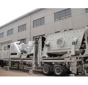 New mobile crushing plant was delivered to Azerbaijan