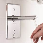 Touch Free Hand Washing with Integrated TMV | Enware eSQX