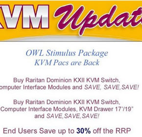 Two Great Promotions Available On Raritan KVM Equipment & Raritan Power Management Solutions