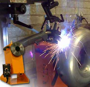 Welding Positioner for Circumferential Welding Applications