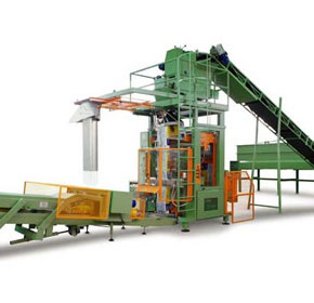 Kockums supply automatic bagging machine for Potting Mix