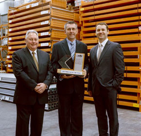 Quality products & service wins Colby national award