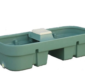 Durable water troughs for harsh Aussie climate