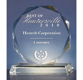 Henrob Corporation Receives 2010 Best of Huntersville Award