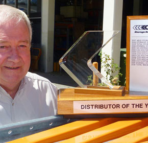 Total Racking Systems is named Distributor of the Year