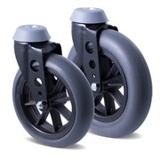 Fallshaw Castors with Micro-Cellular Polyurethane Wheels