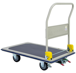 Foot Brake Platform Trolley | Heavy Duty | Commercial Quality