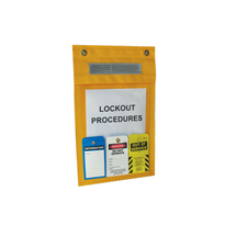 Underground Lockout Bag Permit Holder | ULB-1