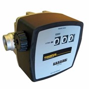 "3 digit 20-120LPM 1"" mechanical display flow meter for diesel"