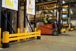 Racking Protection | A-SAFE | RackEnd Double-Rail iFlex Barrier