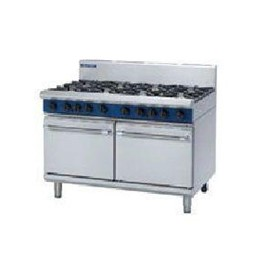 G528D 1200mm 8 Burner Gas Double Static Oven