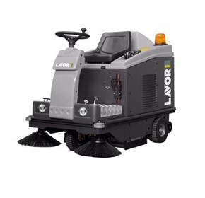 Lavor Ride On Sweeper/Vacuum SWL1000ET