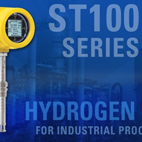 Flow Meter Measures Hydrogen Gas  | ST100