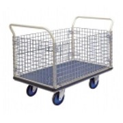 Platform Trolley with Cage Sides | NG407