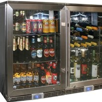 Alfresco Outdoor Beer And Wine Fridges GSP1-840-BW