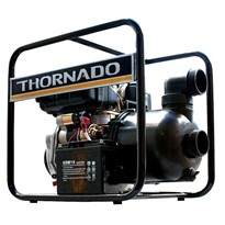 "Thornado 3"" Chemical Transfer Poly Pump 7HP Diesel Key Start"