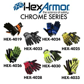 Hexarmor Safety Gloves- Chrome Series